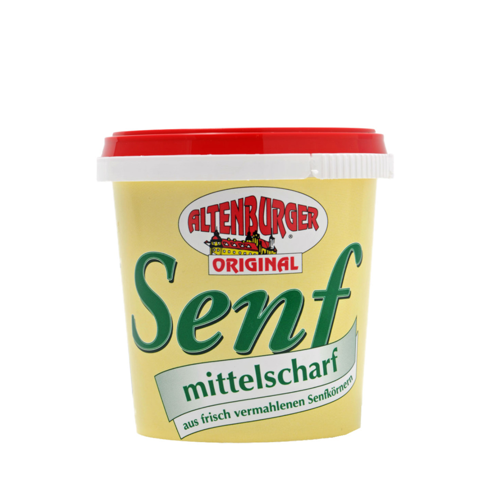 Altenburger Senf, mittelscharf