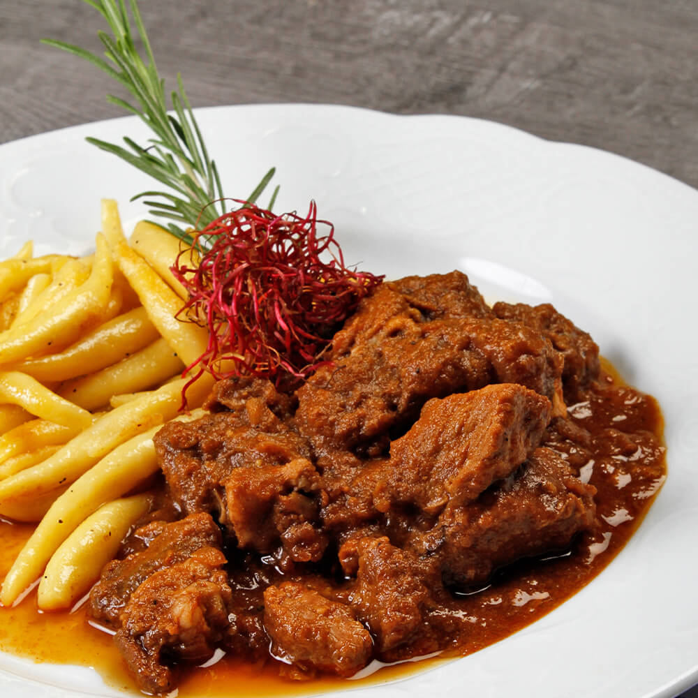 Gourmet-Rindergulasch
